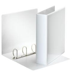 Esselte pořadač A4 kroužkový prezentační 7,7 cm 4-kroužek bílá