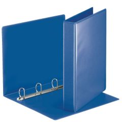 Esselte pořadač A4 kroužkový prezentační 5,1 cm 4-kroužek modrá