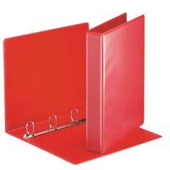 Esselte pořadač A4 kroužkový prezentační 5,1 cm 4-kroužek červená