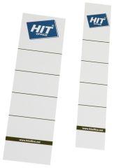 Štítky na pořadače zasunovací - pro pořadač šíře 75 mm / 10 ks