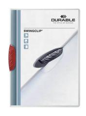 Desky A4 Swingclip - kapacita 30 listů / červená