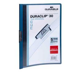 Desky A4 Duraclip - kapacita 30 listů / modrá