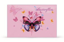 Pracovní podložka s obrázkem - motýli