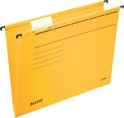 Závěsné desky Leitz Alpha - žlutá