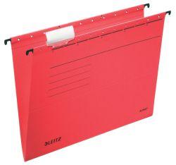 Závěsné desky Leitz Alpha - červená