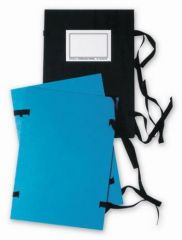 Spisové desky s tkanicí - A5 / černá