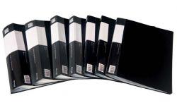 Prezentační desky A4 - 80 kapes / černá