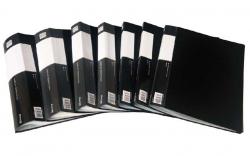 Prezentační desky A4 - 30 kapes / černá
