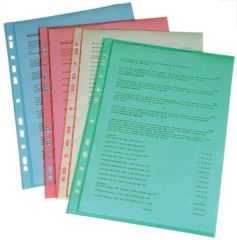 Závěsný obal A4 Copy barevný - A4 / červená / 100 ks