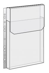 Závěsný obal A4 s rozšířenou kapacitou - A4 / s chlopní / 10 ks