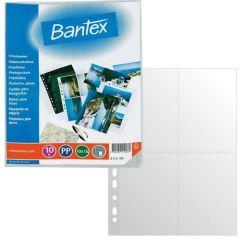 Závěsný obal Bantex - A4 silný / kapsy na foto 13 x 18 / 10 ks