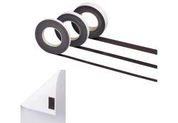 Magnetické pásky samolepicí - 25 mm x 10 m