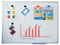 Tabule bílá magnetická ARTA - 90 x 120 cm