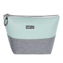 Kosmetická taška Grey mentol / hranatá / malá