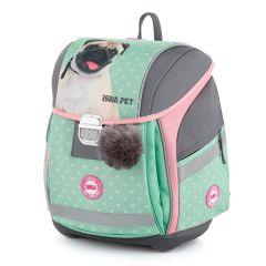 Školní batoh PREMIUM LIGHT - ISHA - My love Pet / pro děti od 121 cm