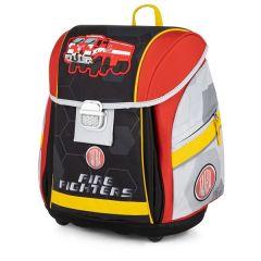 Školní batoh PREMIUM LIGHT / Tatra - hasiči / pro děti nad 121 cm