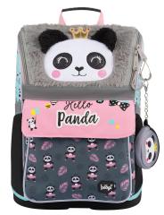 Školní batoh Zippy Panda - s plyšovým povrchem