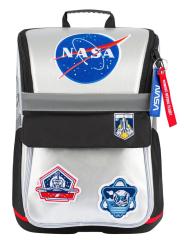 Školní batoh Zippy NASA - cool stříbrná