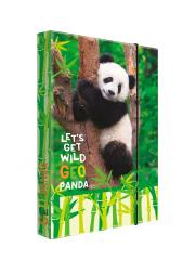 Box na sešity A4 Jumbo -  Panda