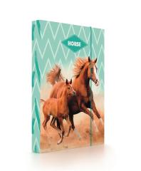 Box na sešity A4 Jumbo -  Kůň