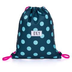 Sáček na přezuvky OXY Dots - modrý