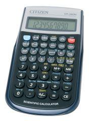 Citizen SR260N vědecká kalkulačka displej 10 míst