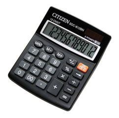 Citizen SDC 812BN stolní kalkulačka displej 12 míst