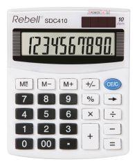 Rebell SDC410 stolní kalkulačka displej 10 míst