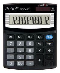 Rebell SDC412 stolní kalkulačka displej 12 míst