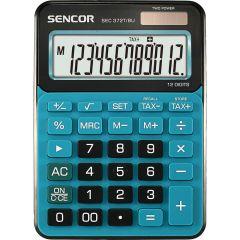 Sencor SEC 372T stolní kalkulačka displej 12 míst modrá