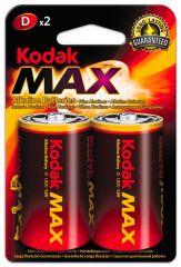 Baterie Kodak alkalické - baterie mono článek velký R20 / 2 ks