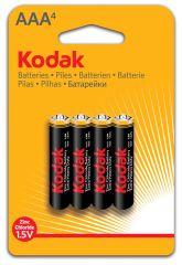 Baterie Kodak - baterie mikrotužková AAA / 4ks