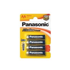 Baterie Panasonic Alkaline POWER alkalické - baterie tužka AA / 4 ks
