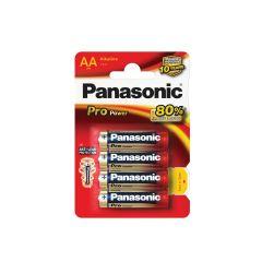 Baterie Panasonic PRO POWER alkalické - baterie tužková AA / 4 ks
