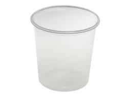 Plastový kelímek - 500 ml / 1000 ks / transparentní
