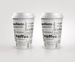 Kelímky papírové Coffee - 100 ml / 50 ks