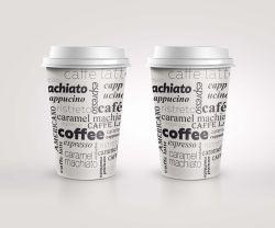 Kelímky papírové Coffee - 200 ml / 50 ks