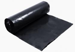 Pytle na odpad černé - 55 cm x 100 cm / 200 my / extra silné