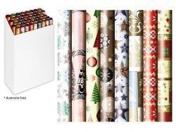 Vánoční balicí papír v roli - 70 x 1000 cm