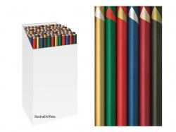 Vánoční balicí papír v roli - 70 x 200 cm / dvoubarevný
