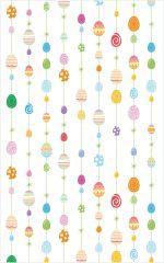 Velikonoční sáčky transparentní - 25 x 40 cm