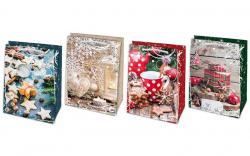 Stil Trade vánoční taška L 23x32cm