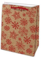 Stil Trade vánoční taška Kraft L 23x32cm