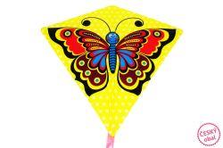 Drak motýl 68x73 cm