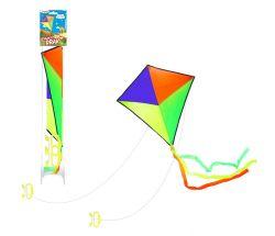 Drak 72x72cm Nylon - barevný