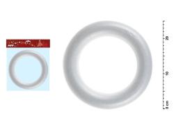 Polystyrénové korpusy - věnec s průměrem 25 cm