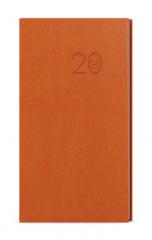 Diáře VIVELLA - týdenní kapesní / oranžová