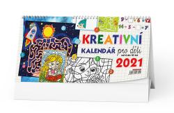 Kalendář stolní - Kreativní pro děti