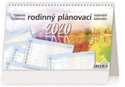 Kalendář stolní RODINNÝ PLÁNOVACÍ - Rodinný plánovací / S35
