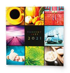 Kalendář nástěnný - Barevný svět / BNL7